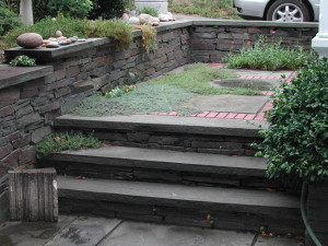 Stone-work - Terrace